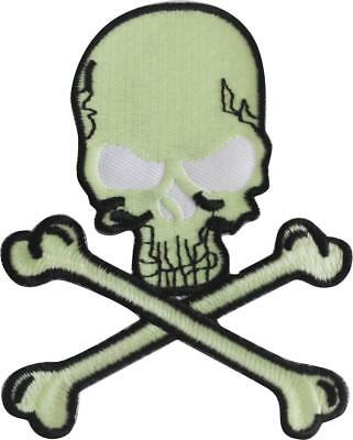 774 Skull Patches-NEW iron,sew,glue embroidered Skull and Crossbones-USA Seller
