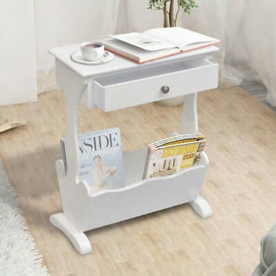 White Shabby Chic Side Table Lamp Phone Stand Hall Hallway Bedroom Furniture