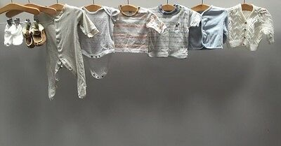 Bundle Of Baby Boys Clothes 0-3 Months Next Early Days Adams <B1231