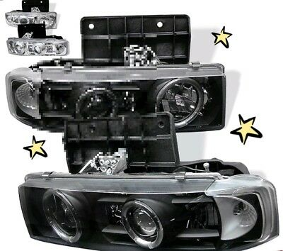 Chevrolet Astro GMC Safari Headlights Halo Projector limited avai £240 delivered