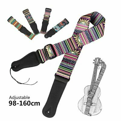 Acoustic Electric Classical Guitar Bass Ukulele Strap Belt Personalized Printing