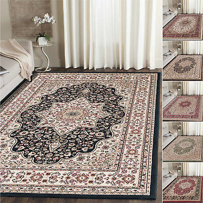 Classic Rugs Traditional Persian Style Bedroom Kitchen Living Area Rugs & Runner