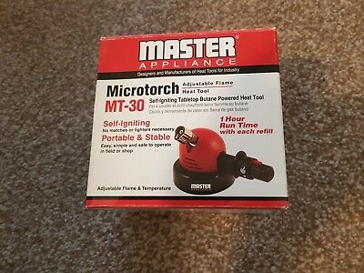 Laboratory Micro Torch - Master Appliance - MT 30.