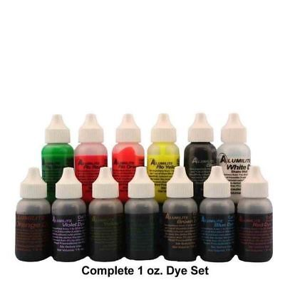 13 Pc Alumilite Dye Complete Set 1 Oz Dyes Resin Casting