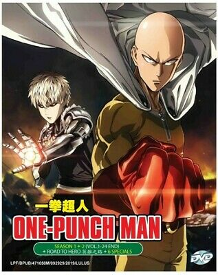DVD Anime ONE PUNCH MAN Complete Series 1-12 End + OVA + 1-6 Special English Dub