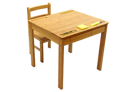 Bamboo Childrens Desk and Chair