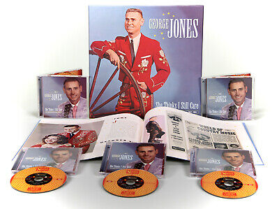 George Jones - She Thinks I Still Care, 1962-1964 (5-CD Box Set) - Classic Co...