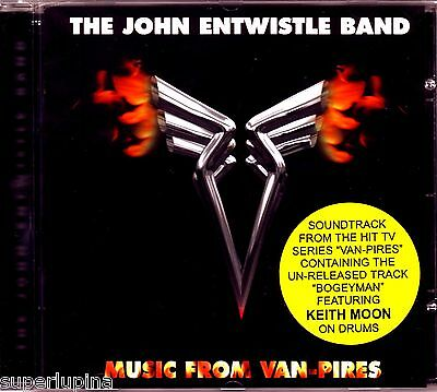 THE WHO JOHN ENTWISTLE - Music From Van-Pires - ULTRA RARE CD with KEITH MOON