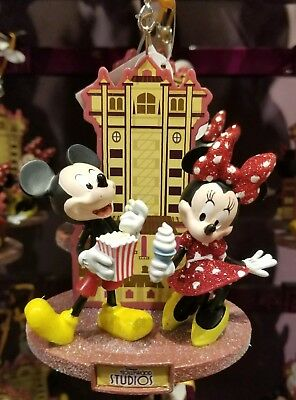 Disney Parks Mickey Mouse Minnie Mouse Hollywood Studios Christmas Ornament 2018