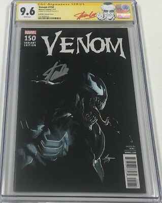 Marvel Venom #150 Signed by Stan Lee CGC 9.6 SS 1:25 Dell Otto Variant Red Label
