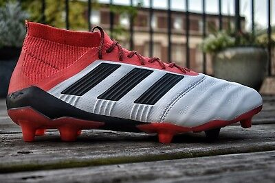 ADIDAS PREDATOR 18.1 FG Leather Mens Size 9.5 Rare Cold Blooded Pack ... 38a5c8895193