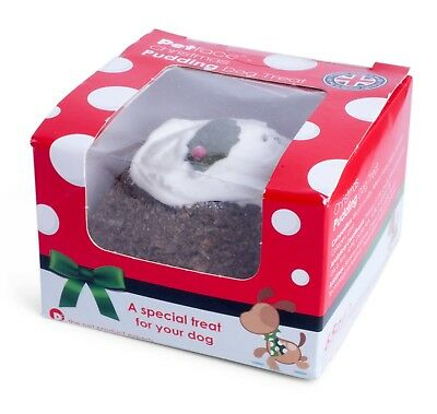 Dog Treat - Christmas Pudding by Petface, Small, Festive, Fun Delicious Present