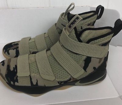 new product 760eb def3c LEBRON SOLDIER XI 11 Shoes Nike Green Camo olive Men's