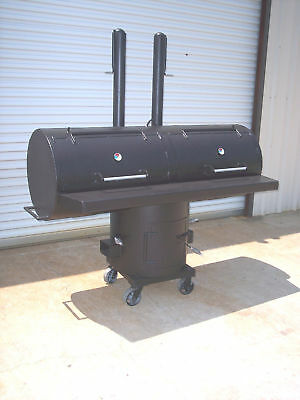 NEW Patio BBQ Pit Smoker Charcoal Grill Cooker