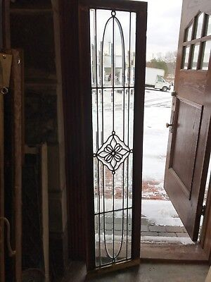 SG 2656 antique all beveled glass transom window 16 x 70