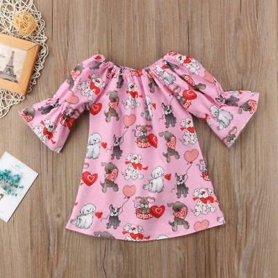 S-480 Pink Puppy Dress w/Hearts (Ready to Ship from Ohio)(Free Shipping)
