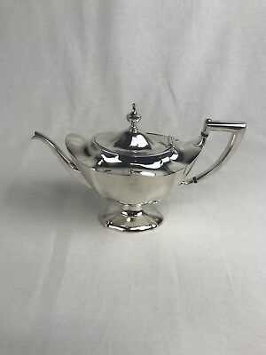 Antique Gorham PLYMOUTH BAY Silver Plate Teapot
