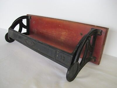 Antique CMC 15 Inch Ornate Cast Iron Paper Roll Dispensor Cutter Vintage Old