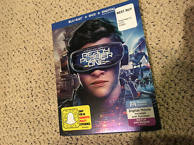 Ready Player One Dvd Usa Release Authentic  (No Blu Ray)