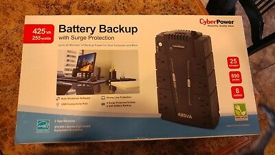 CyberPower CP425SLG battery backup with surge protector