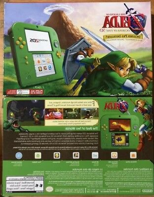 New Nintendo 2DS  CONSOLE Link Edition & The Legend of Zelda: Ocarina of Time 3D