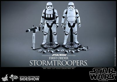 Star Wars First Order Stormtroopers SET Sixth Scale Figures by Hot Toys