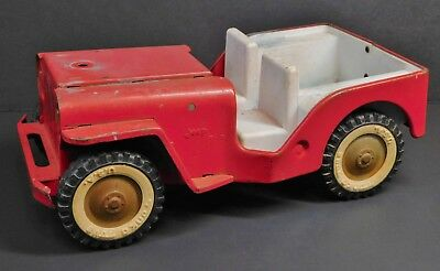 Vintage Tonka Jeep Pumper Fire Truck No. 425 1960s Body