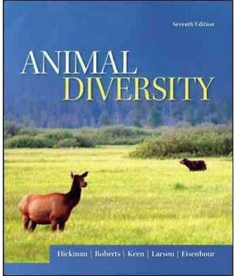 Animal Diversity by Larry S. Roberts, Cleveland P., Jr. Hickman, David J....