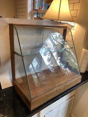 ANTIQUE SHEAFFER's PEN COUNTER TOP DISPLAY CABINET CASE