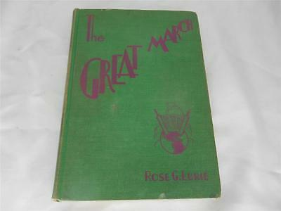 Old Vtg 1931 Religious Book THE GREAT MARCH POST BIBLICAL JEWISH STORIES Judaica