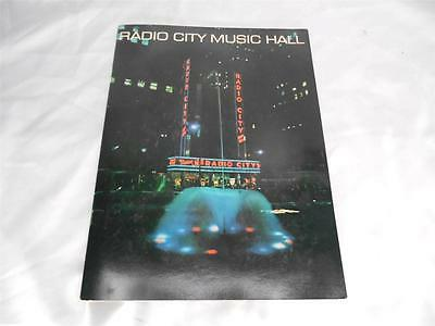 Old Vtg RADIO CITY MUSIC HALL New York Souvenir Program Book Booklet