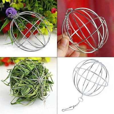 Stainless Steel mental Sphere Grass Collect Ball For Feeding Rabbit Guinea Pig
