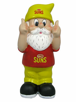 Gold Coast Suns AFL Two Thumbs Up Garden Gnome