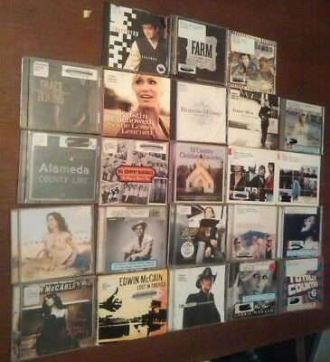 Lot of 23 Country Music CDs - Gretchen Wilson, Trace Adkins Tim McGraw etc...