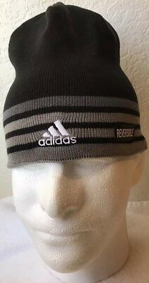 a1a31382 ADIDAS MEN'S ECLIPSE Reversible Beanie *ClimaWarm Hat * One Size ...