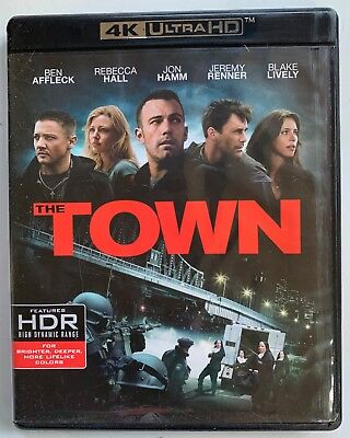 The Town 4K Ultra Hd Blu Ray 2 Disc Set Free World Wide Shipping Ben Affleck