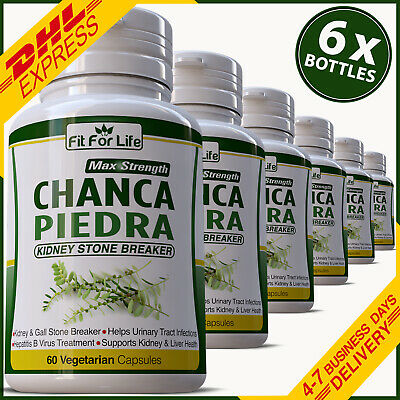 PURE Chanca Piedra KIDNEY STONE BREAKER Natural Cleanse GALLSTONES Pill Capsule