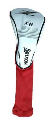Srixon Z No. 3+ Fairway Head Cover - Red/white - New!