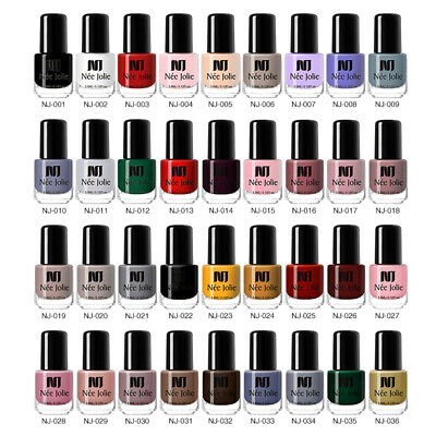 NEE JOLIE 100 Colors Nail Polish Christmas Varnish Black White Red Decor