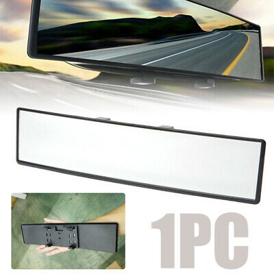 300mm Wide-angle Curved Interior Clip On Rear View Mirror for Most Car SUV Truck