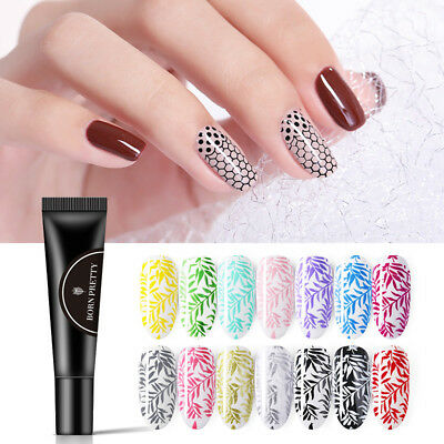 BORN PRETTY 8ml Esmalte de Uñas UV Gel para Polaco Nail Stamping UV Gel Polish