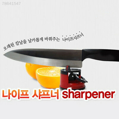 1E89 Strong Sucker Knife Sharpener Grinder Chef Kitchen Tool Suction Pad New