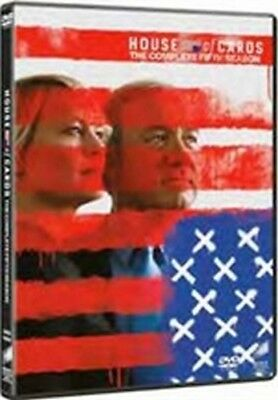 House of Cards - Stagione 5 (4 DVD) - ITALIANO ORIGINALE SIGILLATO -