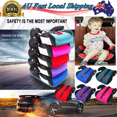 Car Seat Booster Cushion Pad Chair For Children Toddler Kid Sturdy Safe Soft AU
