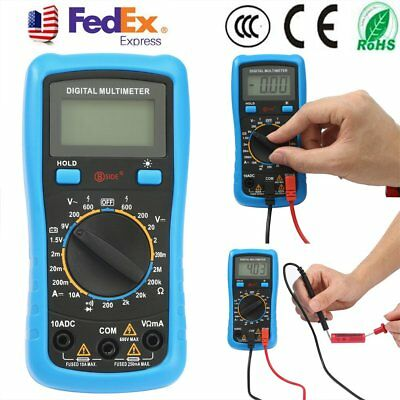 Handheld Digital Multimeter Auto Range 1999 counts AC/DC Voltage Tester LCD SA