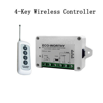 Linear Actuator Controller DC12/24V Inversion Switch Wireless Remote Electric