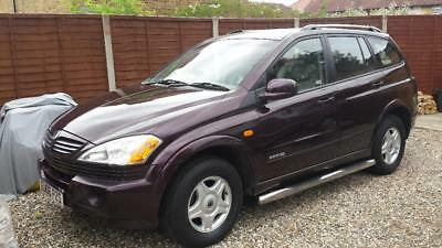 Automatic Diesel, 2006 Ssangyong Kyron 2.0,cream Leather,1 Year Mot, 82000 Miles