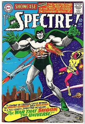 Showcase #60 featuring First The Silver Age Spectre, Fine - Very Fine Condition'