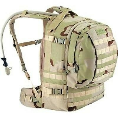 US Army DCU CamelBak MOTHERLODE ARMY 3 color Desert Hydration Rucksack pack