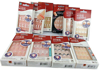 Kiss Everlasting French False Nails New RRP£7.95